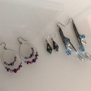 Jewelry - Colorful Earring Bundle